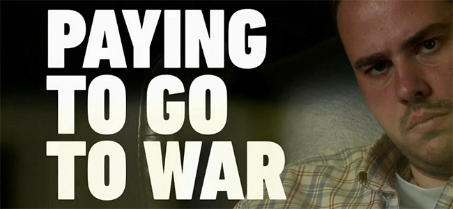 Paying To Go To War