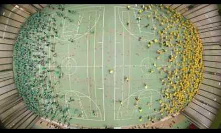 Record del mundo jugando a Balón-Prisionero