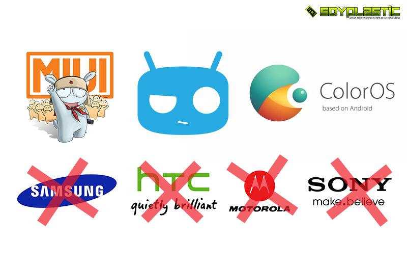 versiones de android