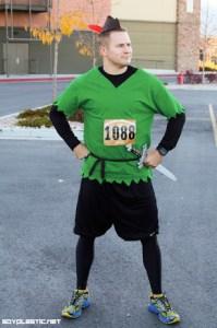 Peter Pan running