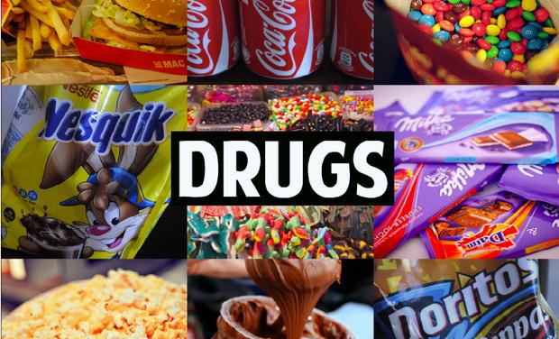 La delgada línea que separa la comida de la droga