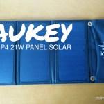 Análisis: Panel solar Aukey PB-P4-TYES 21W