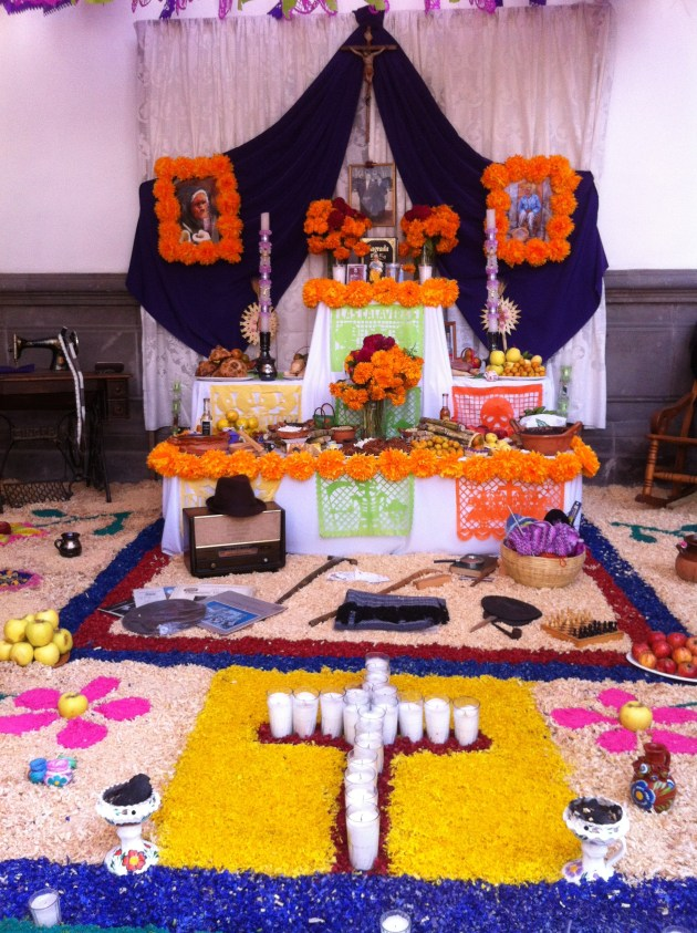 Three Tier Ofrenda