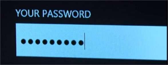 password space keys