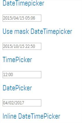 DateTimePicker - XDSoft plugins
