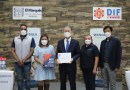 Recibe SMDIF de El Marqués un donativo de 3 mil cubrebocas