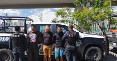 Tres detenidos traían 9 llaves limadas