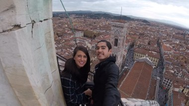 On the Dome of Santa Maria Cathedral
