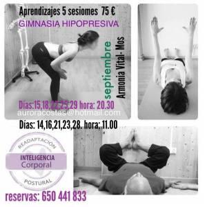 """Gimnasia Hipopresiva Aurora Costas-Sanguiñeda- Mos"""