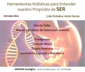 """""""Charla-taller de Entrada Libre en Tenerife"""""""
