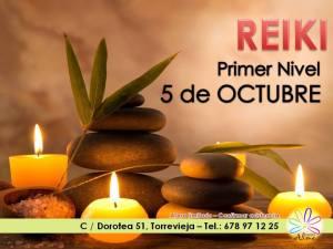 """""""I Nivel de Reiki Centro Alma -Torrevieja"""""""