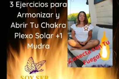 """Chakra Plexo Solar 3 Ejercicios+1 Mudra"""