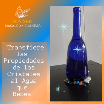 Cristales,Transfiere sus Virtudes al Agua que Bebes
