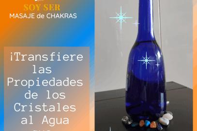 """""""Equilibra Tus Chakras Transfiere las Virtudes de los Cristales al Agua que Bebes"""""""