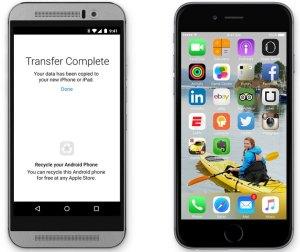 Move to iOS, la app para Android que facilitará pasar a iOS.