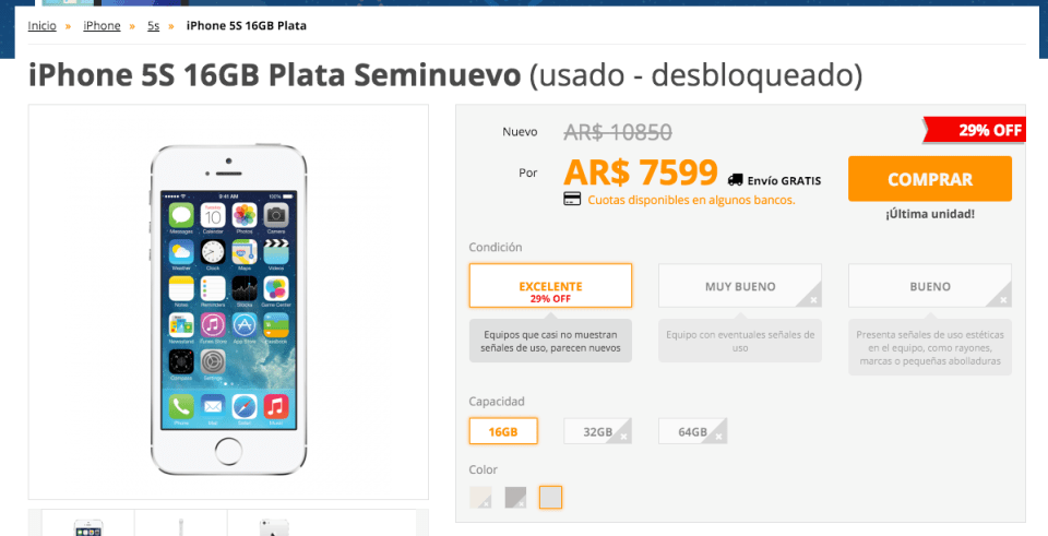 iphone5scompra