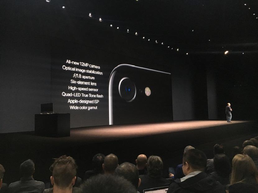 camara iPhone 7 especificaciones