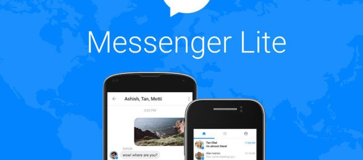 Messenger Lite nueva aplicación Facebook