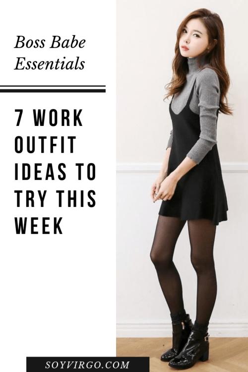 soyvirgo.com work outfit ideas