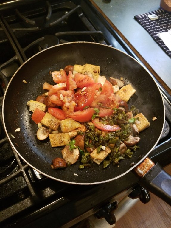 Vegan Breakfast scramble by soyvirgo bb