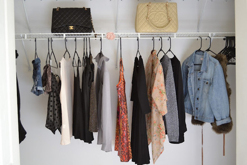 How to clean out your closet and change your wardrobe style without the stress!