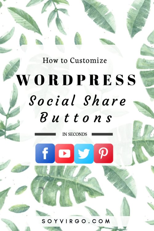 social share buttons wordpress