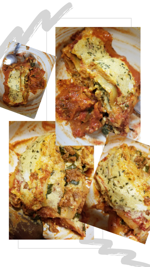 vegan chorizo ricotta cheese lasagna by soyvirgo.com recipe