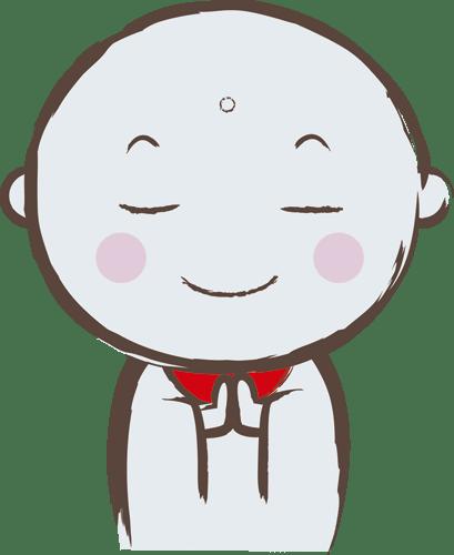 お地蔵さん① 素材堂
