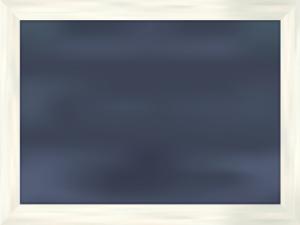 白い木枠の黒板フレーム
