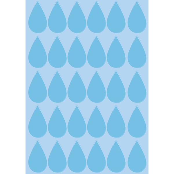 背景画像 雨(しずく)模様(カラー)