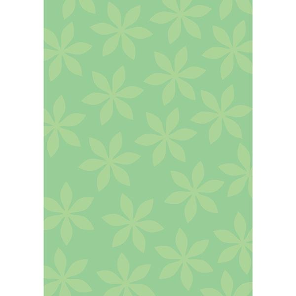 背景画像 グリーンの葉っぱ柄4(カラー)