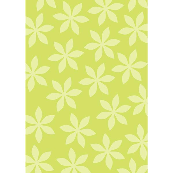 背景画像 黄色の葉っぱ柄4(カラー)