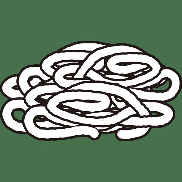 食品 肉(ミンチ)(モノクロ)