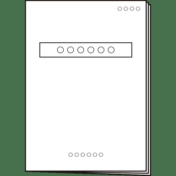 ビジネス 書類 資料アイコン モノクロ 無料イラスト powerpoint