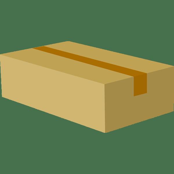ビジネス 梱包された段ボール2(カラー)