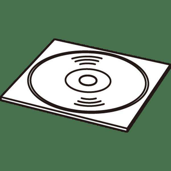 ビジネス CD・DVD(モノクロ)