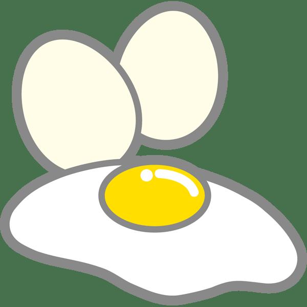 食品 目玉焼き(カラー)
