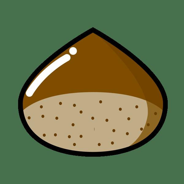 食品 栗(くり)(カラー)