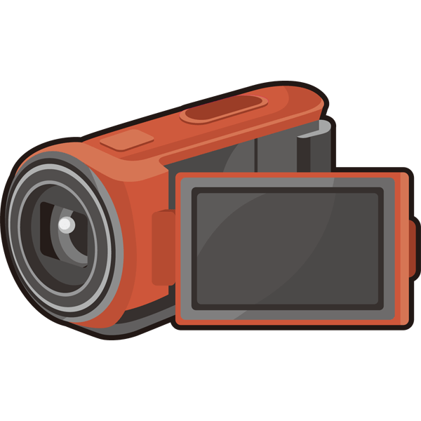 家庭・生活 ビデオカメラ(カラー)