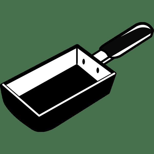 家庭・生活 エッグパン(モノクロ)