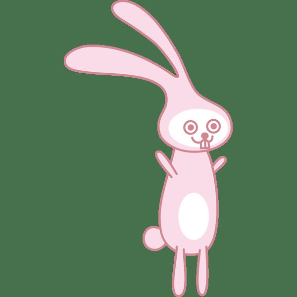 動物 うさぎ(カラー)
