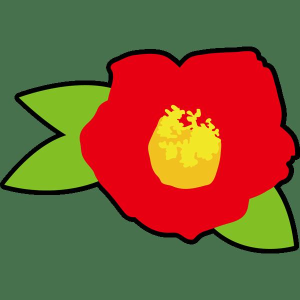 年中行事 椿(つばき)(カラー)
