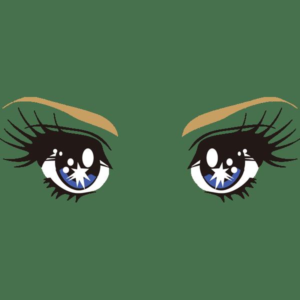 装飾 目(少女漫画)(カラー)