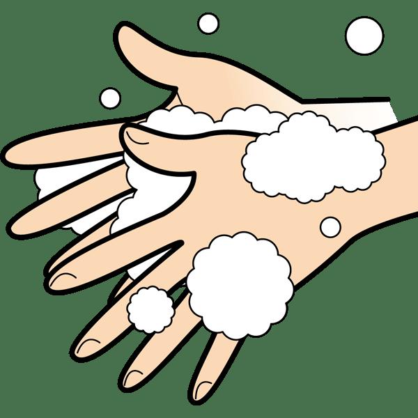 学校 手洗いイラスト(カラー)