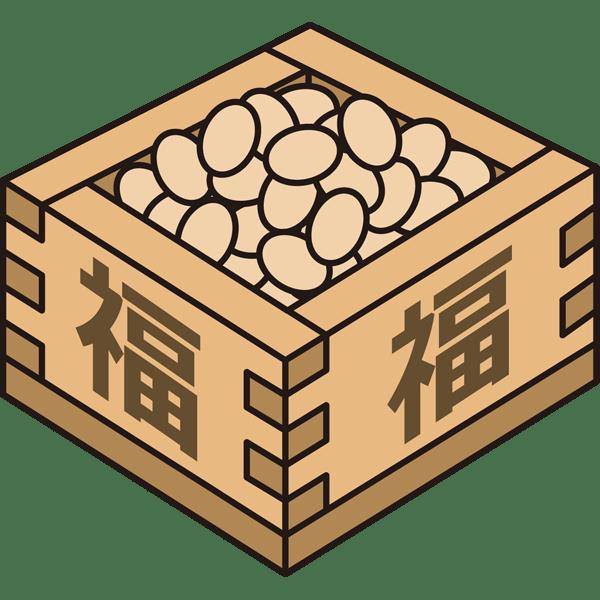 年中行事 豆(豆まき)(カラー)