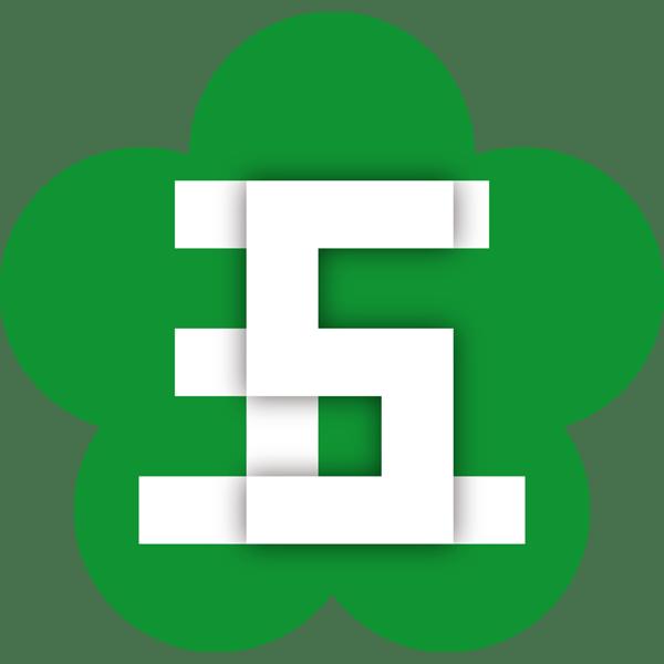 年中行事 七五三(ロゴ・五)(カラー)