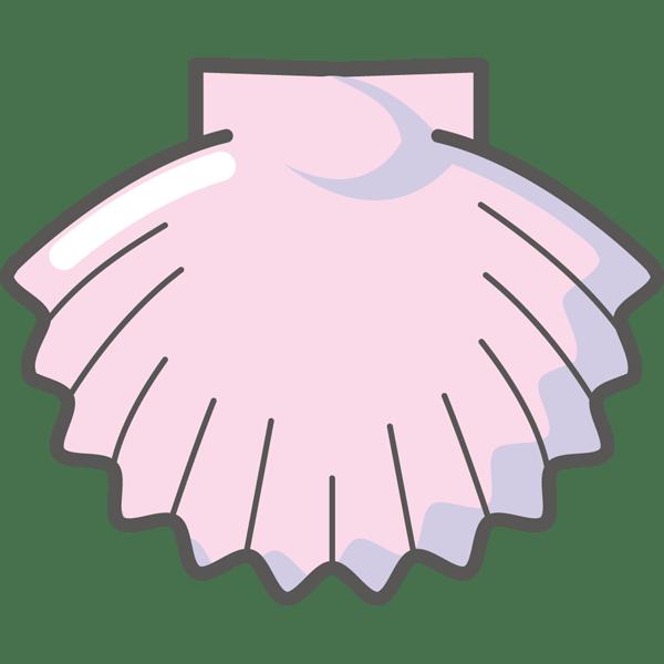 年中行事 ホタテ(貝・ピンク色)(カラー)