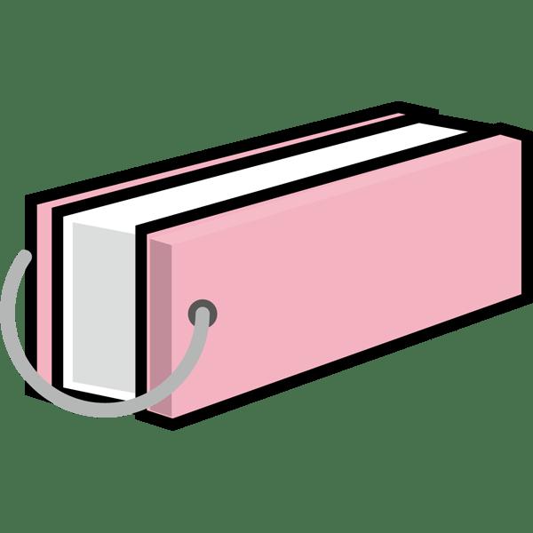 学校 単語帳(ピンク)(カラー)
