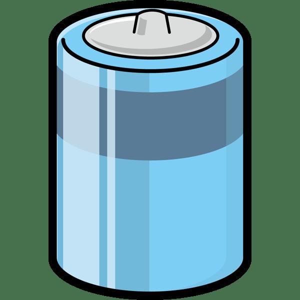 学校 乾電池(カラー)