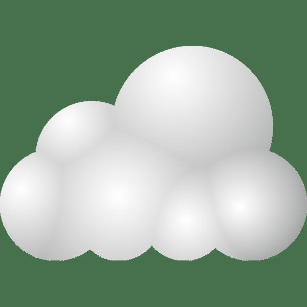 自然 くもり(天気・雲)(カラー)